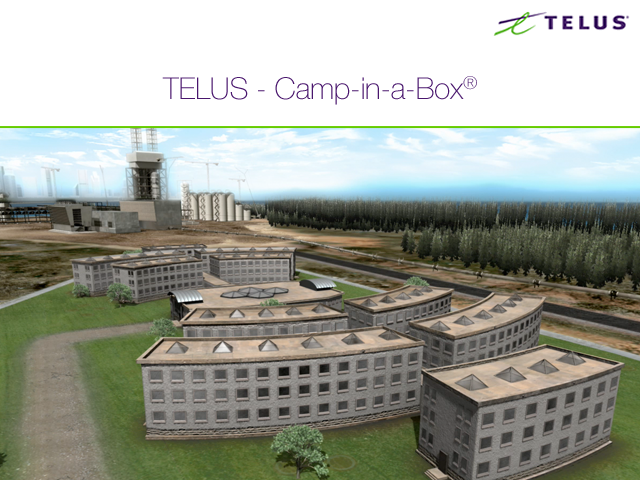TELUS – Camp-in-a-Box