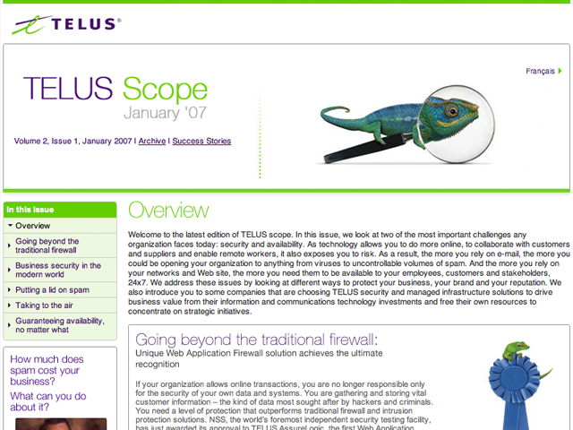 TELUS – Scope