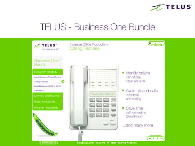 TELUS – Business One Demo