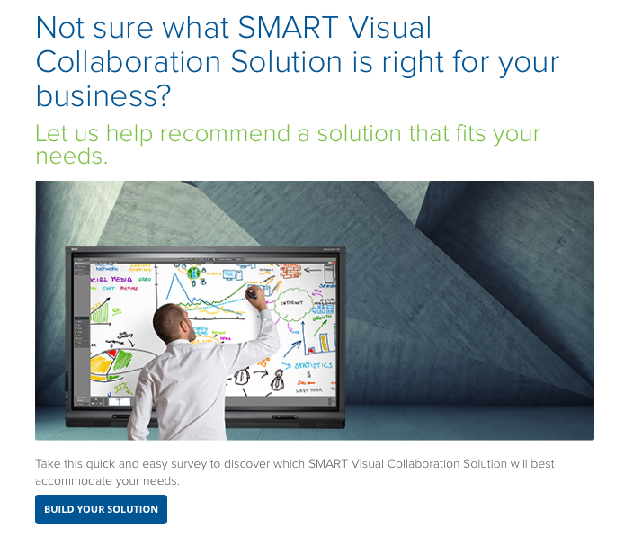 SMART Visual Collaboration Configurator